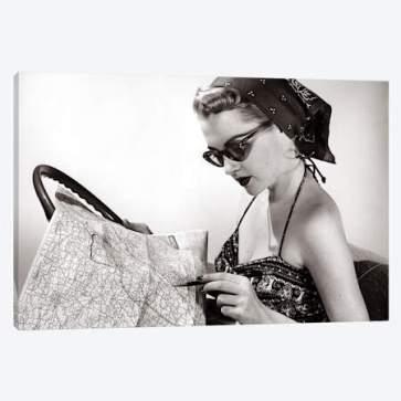 map girl